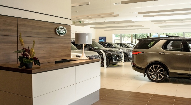 Meda - Architects for Roger Young Land Rover Plymouth