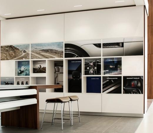JLR Taunton showroom