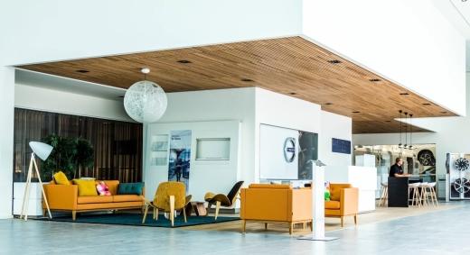 Volvo Taunton showroom